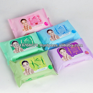 Bluna facial cleansing tissue(makeup remover)
