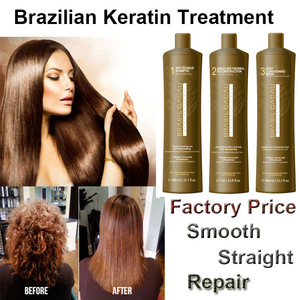 Brazilian cacau Keratin Hair Treatment OEM and ODM and private label Hair Straighten Treatment High Quality