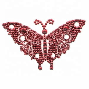 Crystal Best Price Good quality tattoos Sticker Manufacturer Multicolored Popular Bling Vajazzle Body Tattoo sticker