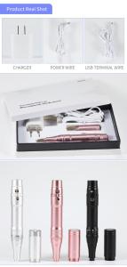 Eyebrow Semi Permanent Makeup Machine Kit Supply PMU Wireless Microblading Pen