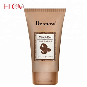 Factory Price Cheap Skin Care Whitening Volcanic Mud Foam Cleanser Best Selling Popular Deep Cleansing Facial Face Cleanser