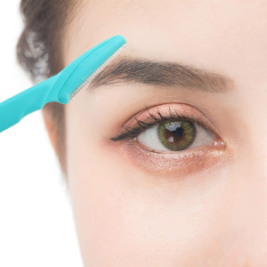 Free Sample Amazon Hot Beauty Care Tools Eyebrow Knife Shaver Personal Lady Razor Eyebrow Trimmer Set