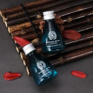 Hotel amenities supplier Hotel toiletries wholesale custom shower gel in bottle 30ml 5 star hotel luxury  shower gel