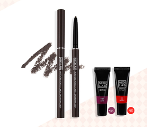 Korean Beauty DAYCELL Medi Lab Auto Gel Pencil Liner Sad Brown, Deep 0.1g Eye Makeup Solution