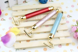 Mini anti wrinkle 24k gold facial vibrating massage tools