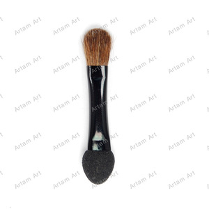 mini eye shadow sponge applicator eyeshadow brush Sponge Makeup Applicator