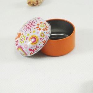 new design fashional cheap tin box lip balm