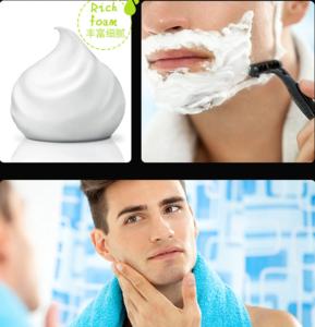 OEM mild mens shaving foam wholesale shaving cream for men