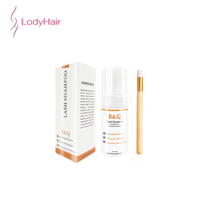 Oil Free Eyelash Extension Cleanser Foam, Custom Private Label Lash Extension Foam Cleanser, Beauty Wash Supplies Cleanser Foam