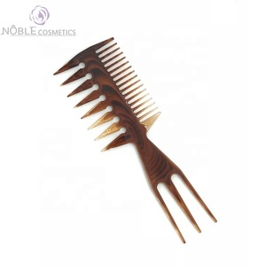Professional salon hair dressing tools sectioning weave hair cutting rat tail comb