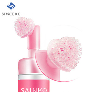 SAINKO 2 in1 Face cleansing water makeup remover with brush