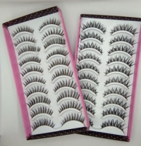 Hand Tied Eyelashes Double-Layered Mink Lashes