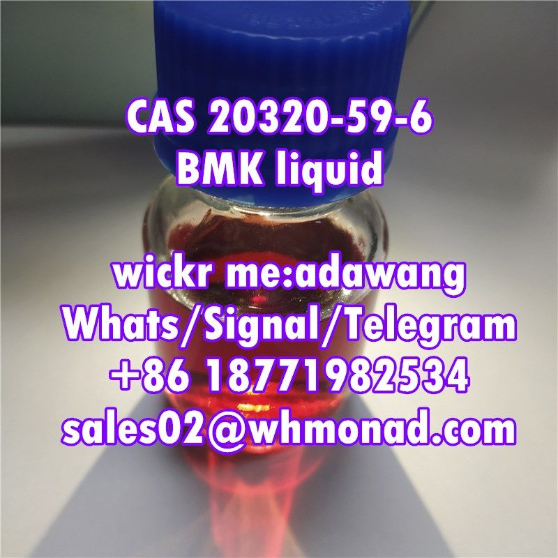 bmk powder and liquid of cas 20320-59-6/5413-05-8 in stock quickly delivery