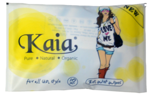 10 sheets wallet wet wipes KAIA, convenient for traveling!