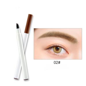 2019 3 Colors Liquid Eyebrow tattoo Pencil 3 Head Fork Tips Long Lasting Waterproof  Eyebrow Tattoo Pen
