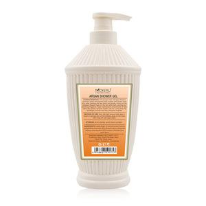 800ml Private Label OEM Natural Whitening Deep Moisturizing Organic Shower Gel Morocco Argan Oil Shower Gel for Women
