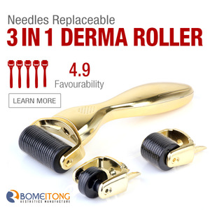 Amazing roller factory price derma rolling system drs 540 derma roller