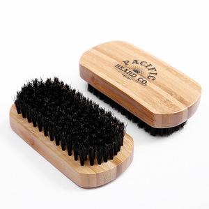 Beard comb and brush set mens wooden beard shaping tool Perfect Facial Hair Grooming Kit