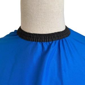 blue, red sublimation quality designer  barber capes with hook, snap