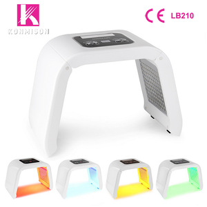 FDA pdt led light therapy led pdt bio-light therapy machine 4 colors therapy pdt factory price