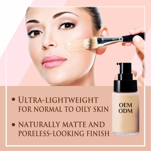 Free Sample Private Label Whitening Makeup Liquid Foundation