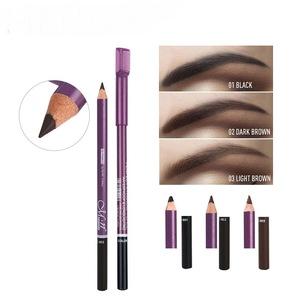 High quality easy to color eyebrow pencil waterproof eyebrow pencil