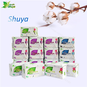 Hot Selling Herbal Women Product Free Sample ShuYa Sanitary Pad Organic
