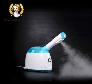 Kingdom cool mist humidifier facial steamer with lamp