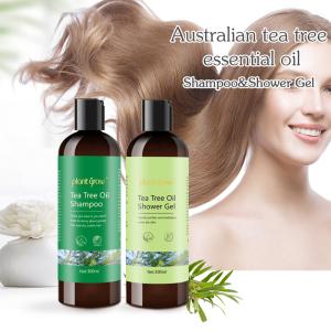 Organic Tea Tree Natural Shampoo Repairs Damaged Hair