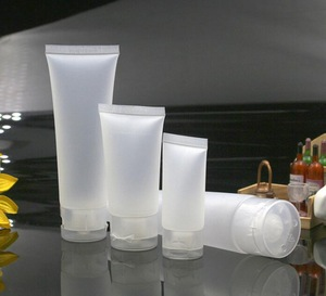 plastic cosmetic tubes high quality body cream tube shampoo PE tube