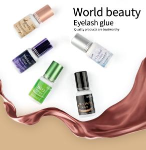 Ready to ship Worldbeauty Korea eyelash glue neicha lady black adhesive eyelash extension glue