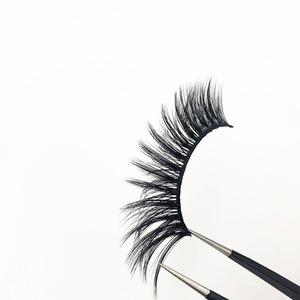 Wholesale Premium Korea PBT fiber 3d silk lashes private