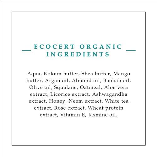 Timeless Beauty Secrets Organic Intense Moisturizing, Luxurious Hand & Body Butter With Kokum, Shea, Mango butters