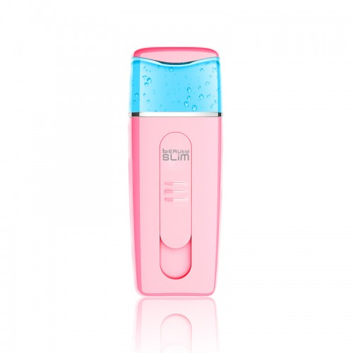 high quality OEM milk water pink portable rechargeable facial nano mister lashes