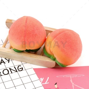 Factory Fizz Balls Colorful Peach Essential Oil Hemp Natural SPA Moisturizing Peach Bath Bomb