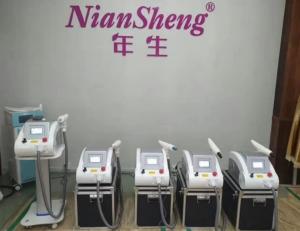 Niansheng Clinical Use 532nm&1064nm&1320nm Q Switch Nd Yag Laser / Carbon peeling/Tatoo Removal Laser Machine price