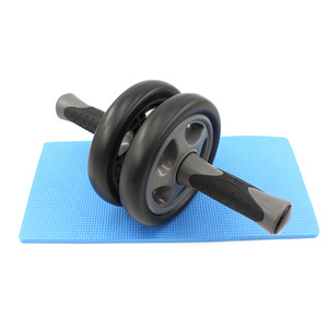 Non- Slip Handles Smooth body building stretch ab Wheel