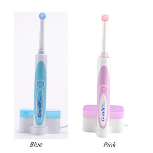 oral hygiene products rotating rechargeable electric toothbrush with 2 brush head