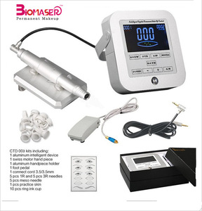 Professional Digital Eyebrow Permanent Makeup Tattoo Tools Machine Kit