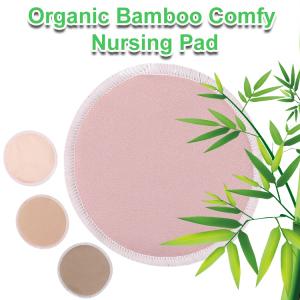Washable Reusable Bamboo Nursing Breastfeeding Cooling Bra Pads Best Wool Breast Pads