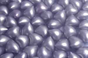 Wholesale 4.2g Silver Purple Pearl Heart-shaped Bath Oil Beads Floral Fragrance Bath Pearls 100pcs/lot