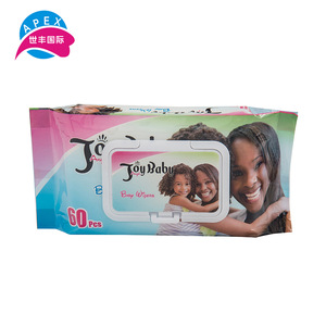 Wholesales free sample OEM wet tissue baby wipes without aloe