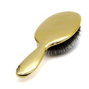 Yaeshii Professional Custom Plating Natural Nylon Factory Boar Bristle  Detangling Boar Bristle Brush Hair