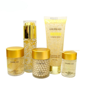 24k pure gold foil ageless anti wrinkle skin care set