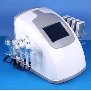 5 in 1 Cavitation+Multipolar+Vacuum+Lipolaser Slimming Machine