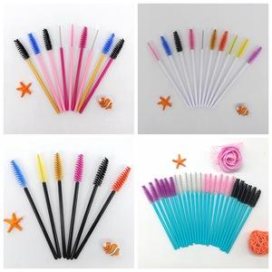 J06 Disposable mascara wands makeup brush for eyelash extension