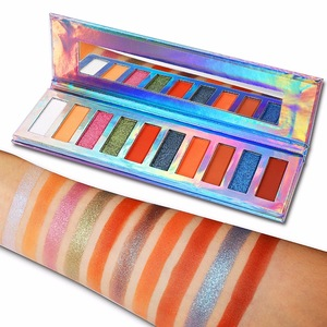 maquillaje cosmetic Multi-Colored Color and Powder Form eye shadow pallet Eye Shadow