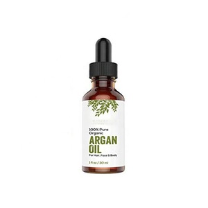 OEM Custom Cosmetic Products Private Label Cold Pressed Organic Argan Oil 100% Pure