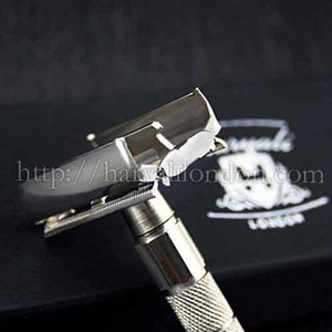 Twist Open Butterfly Style Mens Shaving De Safety Razor. Classic Vintage Razor