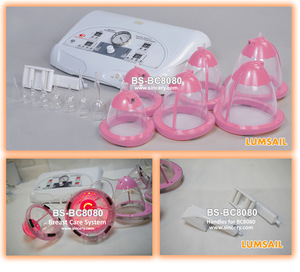 Vacuum breast enhancement, breast lift up bra invisible tape boob enhancer